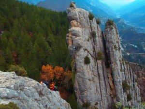 Via ferrata situé près de Castellane et Nice.