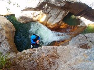 Canyoning proche de Castellane