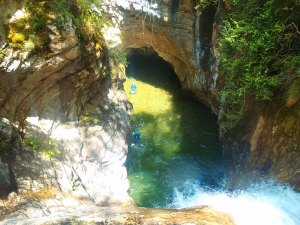 canyoning proche de NIce
