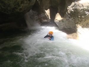Le canyon du Haut Jabron vers Castellane