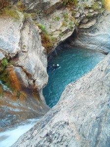 Canyon de Chaudan dans le Haut Var