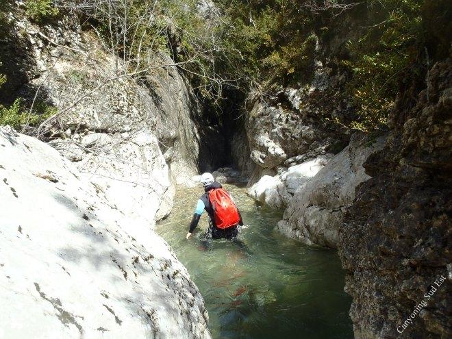 Canyon de Valbelle
