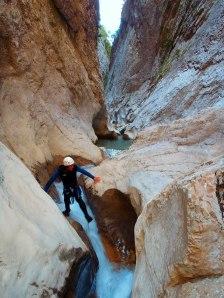 Canyon d'Aiglun