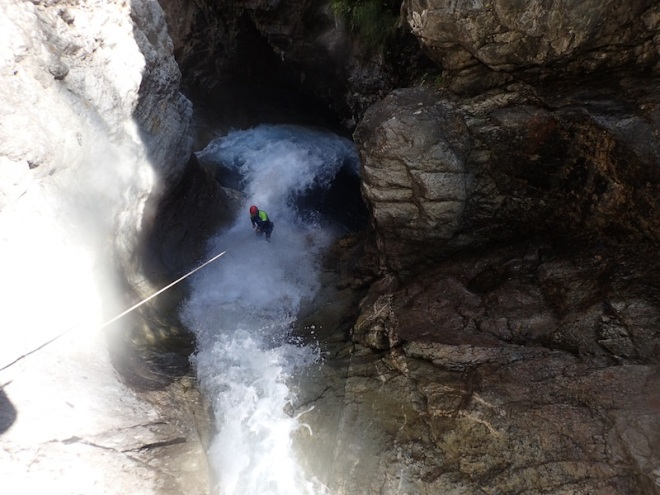 canyon oules de freyssinieres